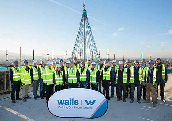 Topping Out at the Beacon in Sandyford