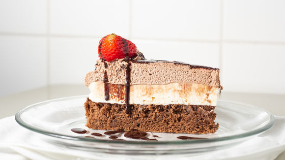 Tiramisu Three Layer Chocolate Cake