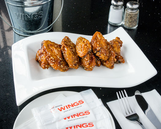 Korean Sesame Wings