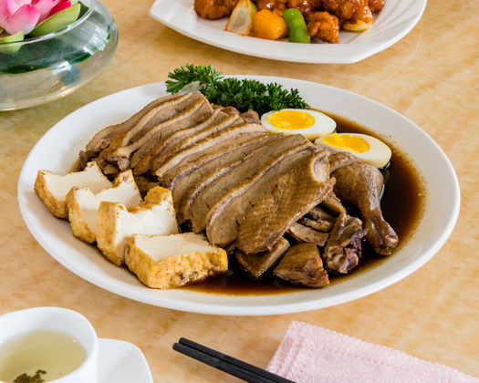 Chiu Chow Style Soy Duck With Soy Smooth Tofu And Soy Egg