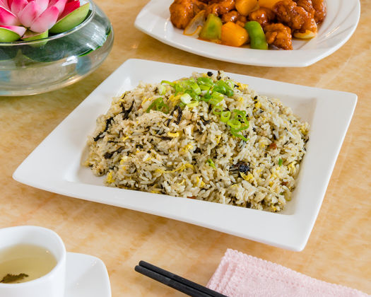 Preserved Vegetable And Minced Pork Fried Rice