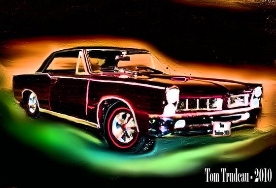 65' Pontiac GTO - Oil Painting by Tommi Trudeau.
