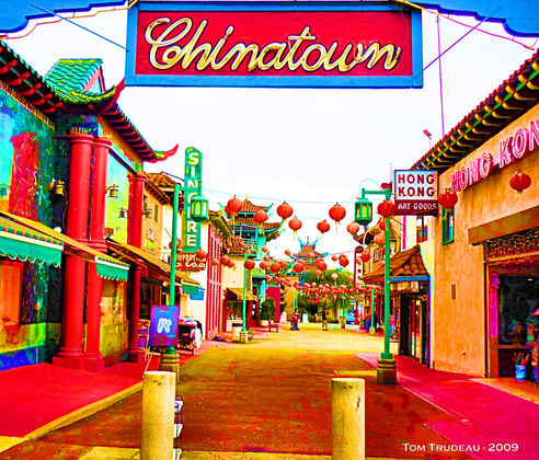 Chinatown - Artistic Photography by Tommi Trudeau