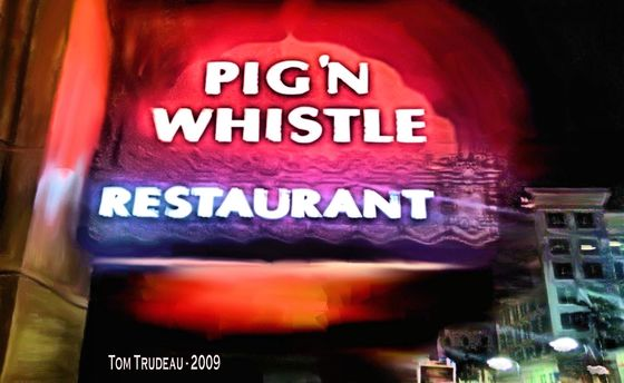 The Pig 'N Whistle - Artistic Photography by Tommi Trudeau.