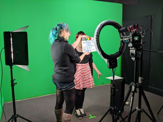 Shooting on green screen is an affordable option for testimonials, vlogs, reviews, and more!