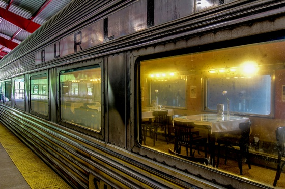 Burlington Northern Dining Car