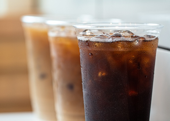 Iced coffee by Curate Your Feed Photography
